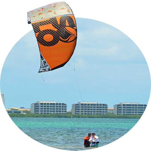 clase dos de kitesurf