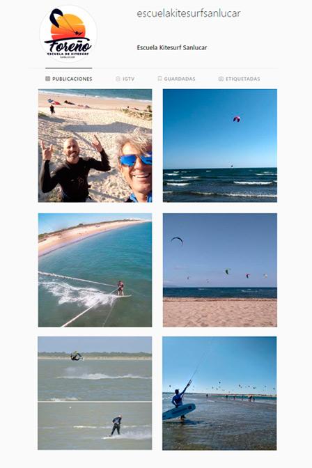 muy importante en un curso de kitesurf