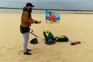 alumno escuela kitesurf rota