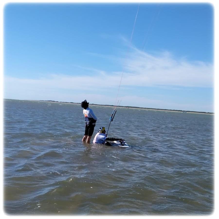 método del curso de kitesurf