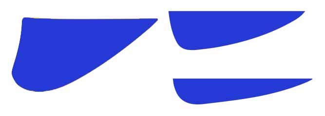 quillas tabla kitesurf twintip