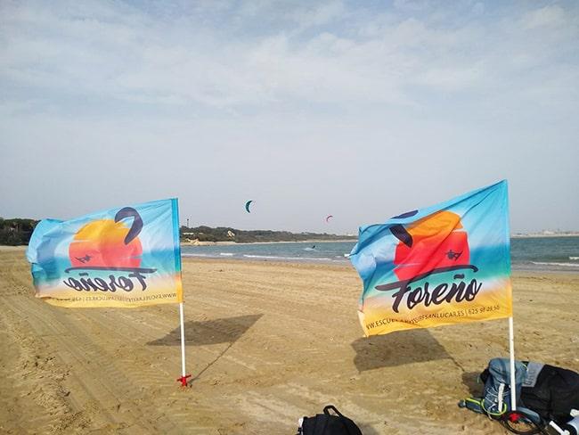 curso kitesurf Rota El Chorrillo