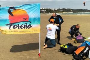 preparacion cursos kitesurf