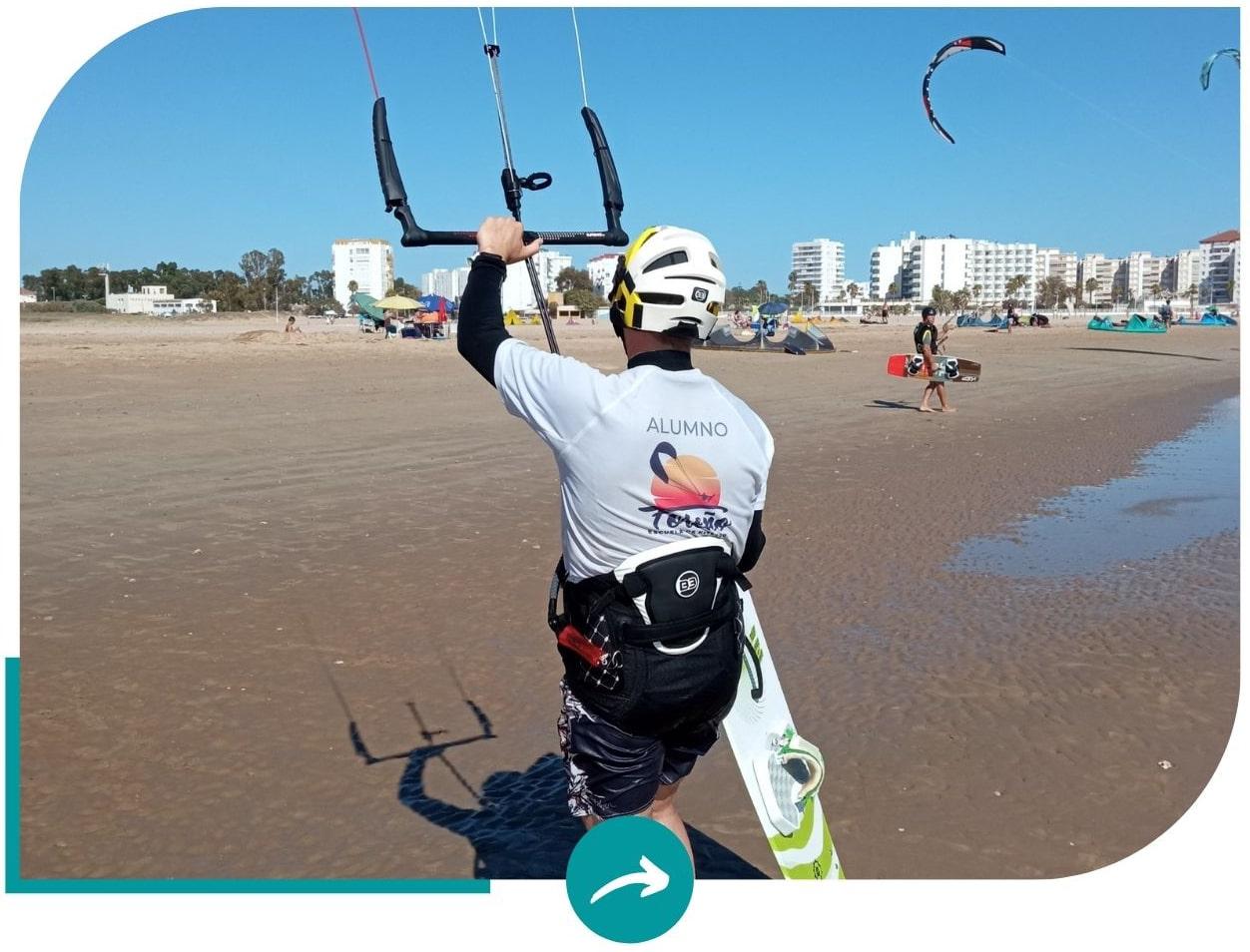 cursos kitesurf valdelagrana